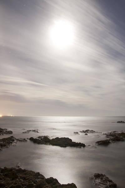 Niebla Wall Art - Photograph - Saltwater Moon - Luna Salada by Manuel Benitez Roman