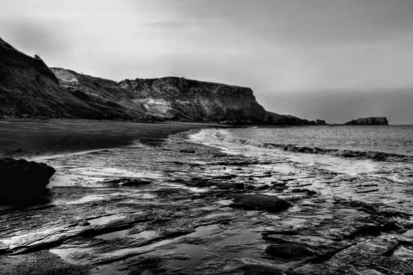 Photograph - Saltwick Bay by Sarah Couzens