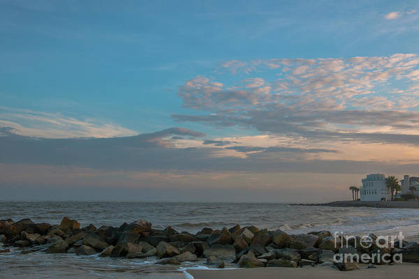 Photograph - Salty Air Over Breach Inlet by Dale Powell