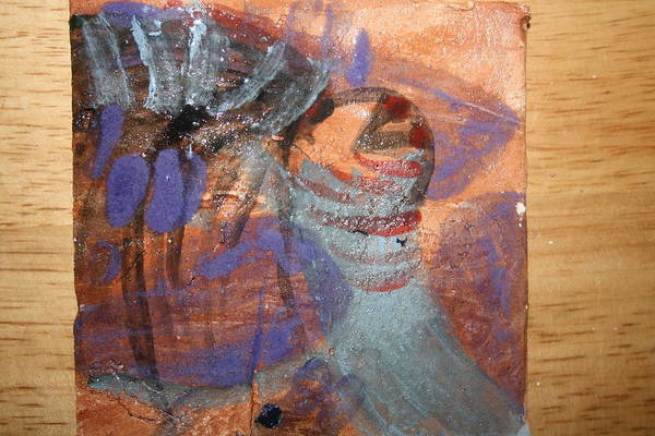 Ceramic Art - Salutation - Tile by Gloria Ssali
