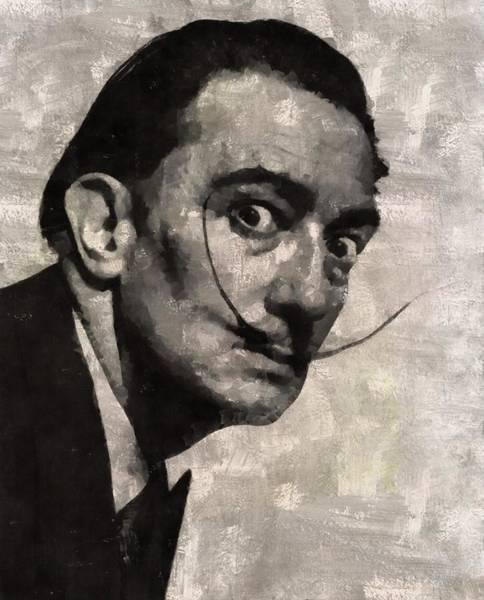 Salvador Dali Painting - Salvador Dali, Artist by Mary Bassett