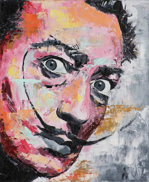 Dali Painting - Salvador Dali by Richard Day