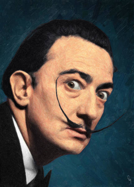 Salvador Dali Painting - Salvador Dali by Zapista Zapista
