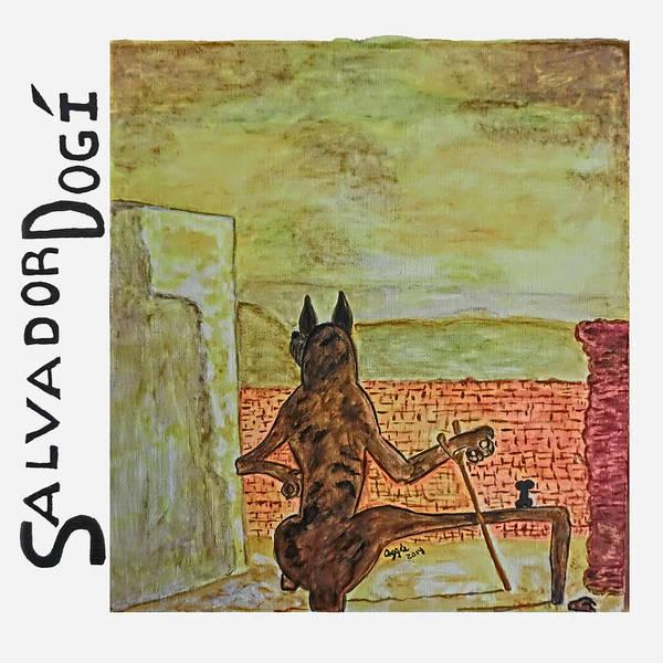 Painting - Salvador Dogi by Stephanie Agliano