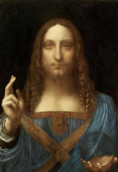Painting - Salvador Mundi  by Leonardo da Vinci