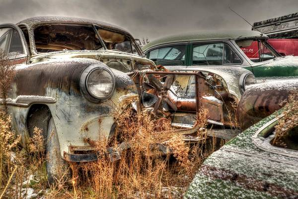 Photograph - Salvage Time by Craig Incardone