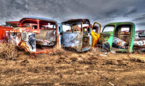 Photograph - Salvage Yard by Craig Incardone