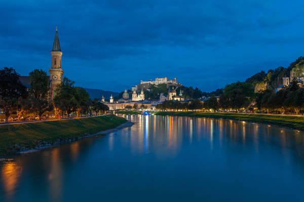 Photograph - Salzburg, Austria by Brenda Jacobs
