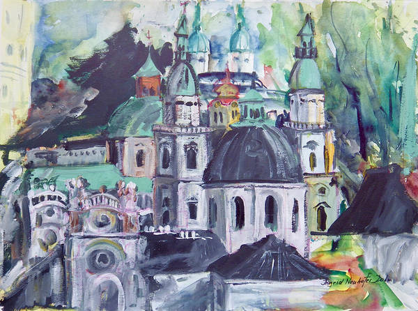 Painting - Salzburg I by Ingrid Dohm