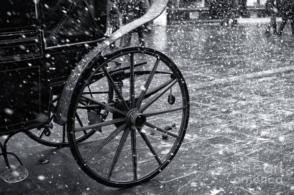 Photograph - Salzburg Snow Buggy by John Rizzuto