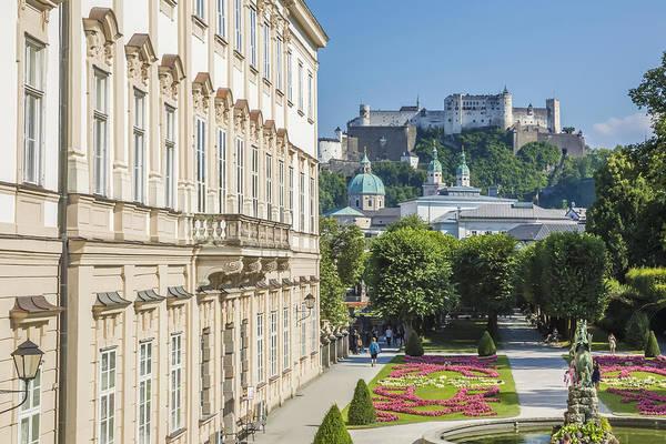 Impressive Photograph - Salzburg Wonderful View To Salzburg Fortress by Melanie Viola