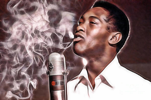 Wall Art - Mixed Media - Sam Cooke Collection by Marvin Blaine