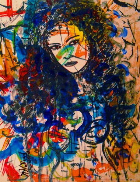 Samantha Painting - Samanthaa by Natalie Holland