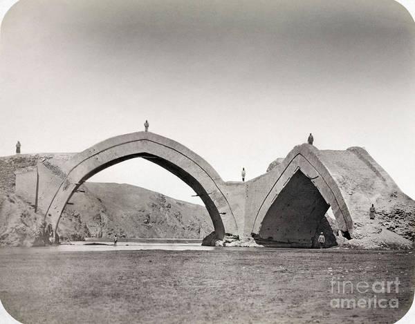 Wall Art - Painting - Samarkand: Bridge, 1872 by Granger