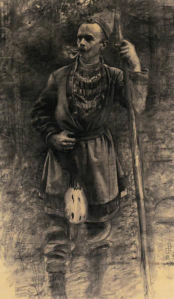 Same Drawing - Same I Skogsbryn by John Bauer