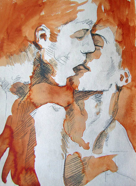Painting - Same Love by Rene Capone