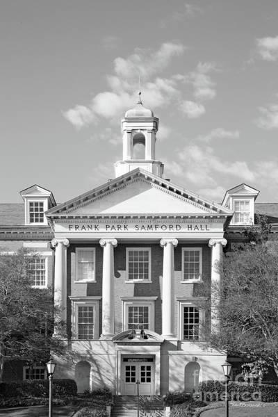 Photograph - Samford University Frank Park Samford Hall by University Icons