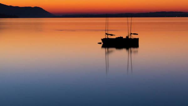 Wall Art - Photograph - Samish Sea Sunset by Tony Locke