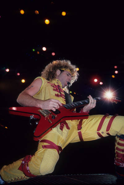 Photograph - Sammy Hagar by Rich Fuscia
