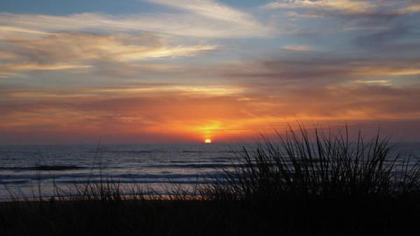 Photograph - Samoa Dunes Sunset by Harold Rau