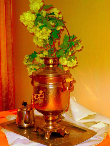 Jasmine Tea Photograph - Samovar by Henryk Gorecki