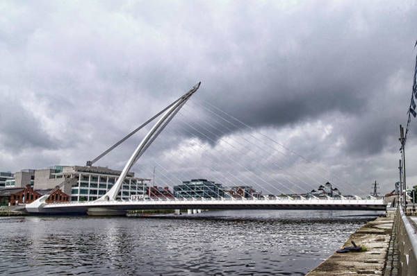 Photograph - Samuel Beckett Bridge by Sharon Popek