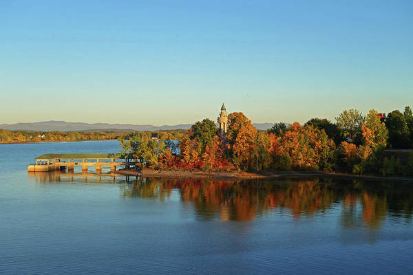 Photograph - Samuel De Champlain Monument, Adirondack Park, Crown Point, Ny by Toby McGuire