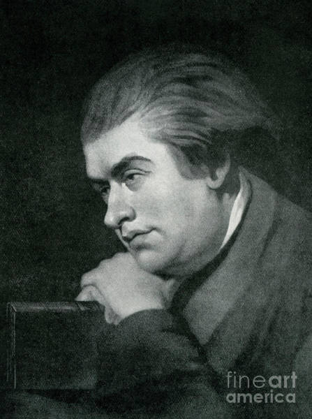 Deep Thought Wall Art - Drawing - Samuel Johnson  Portrait by George Zobel