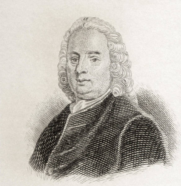 Wall Art - Drawing - Samuel Richardson, 1689 To 1761 by Vintage Design Pics