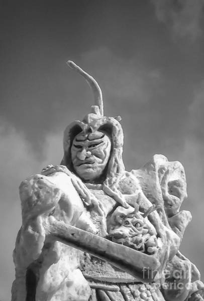 Ice Carving Photograph - Samurai 2 by Bob Phillips