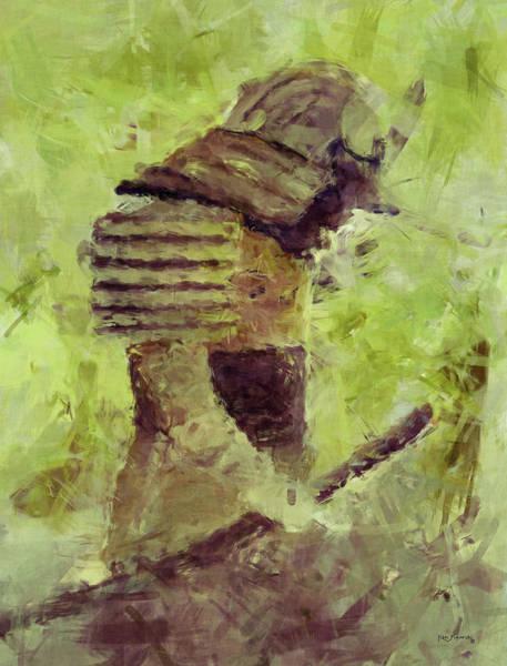Emperor Of Japan Wall Art - Painting - Samurai 3 by Ken Figurski