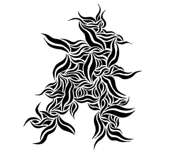 Drawing - Samurai Abstract by Beth Akerman