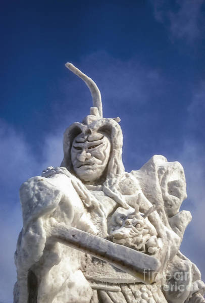 Ice Carving Photograph - Samurai by Bob Phillips
