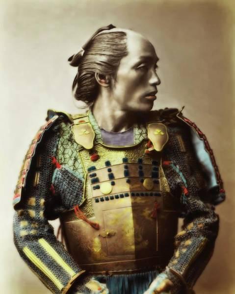 Photograph - Samurai In Profile by John Feiser