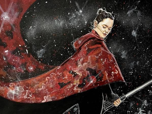 Painting - Samurai Rey by Joel Tesch