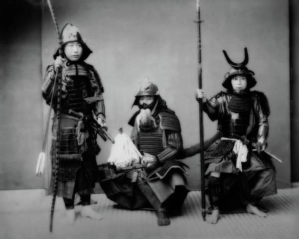 Photograph - Samurais by John Feiser