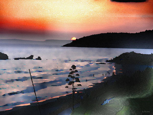 Photograph - San Adeodato Sunset II by Dee Flouton