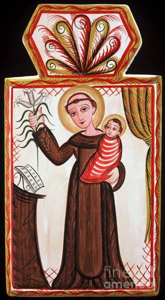 Painting - San Antonio De Padua - St. Anthony Of Padua - Aopad by Br Arturo Olivas OFS
