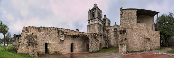 La Purisima Mission Photograph - San Antonio Mission Concepcion by Jurgen Lorenzen