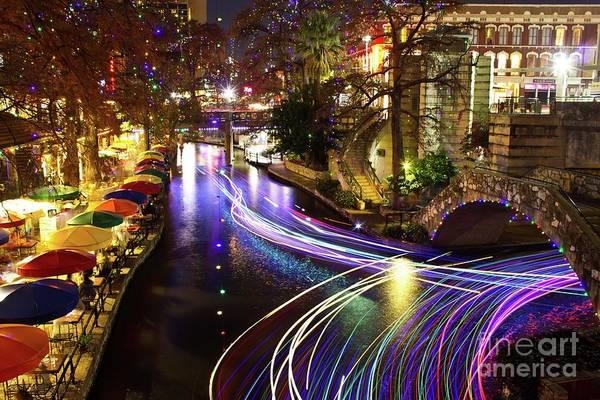 Wall Art - Photograph - San Antonio River Walk by Michael Tidwell