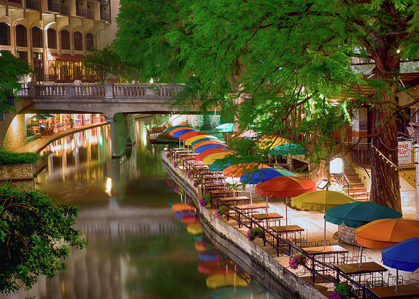 Photograph - San Antonio Riverwalk 022817 by Rospotte Photography