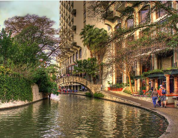 Photograph - San Antonio Riverwalk by Brian Kinney