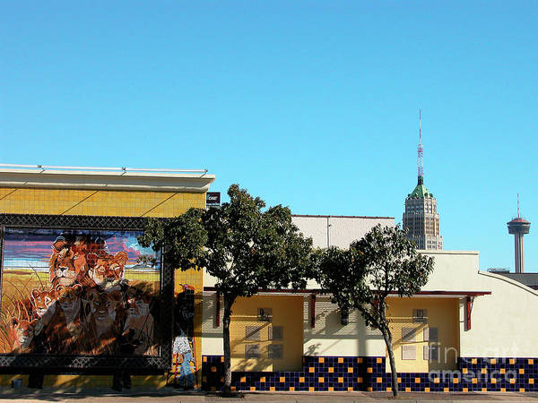 Photograph - San Antonio Skyline by Thomas R Fletcher