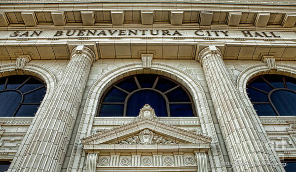 San Buenaventura City Hall Art Print