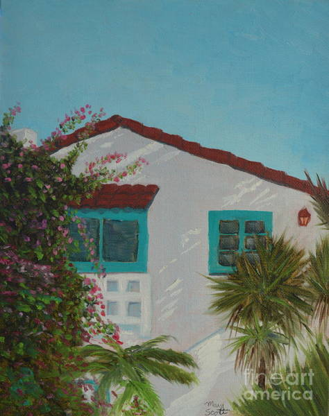 Painting - San Clemente Art Supply by Mary Scott