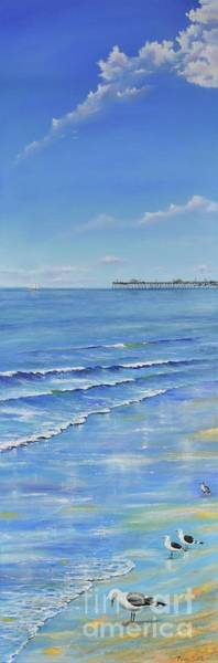 Painting - San Clemente Beach by Mary Scott