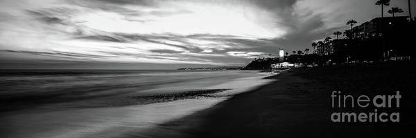 Wall Art - Photograph - San Clemente California Black And White Panorama Photo by Paul Velgos
