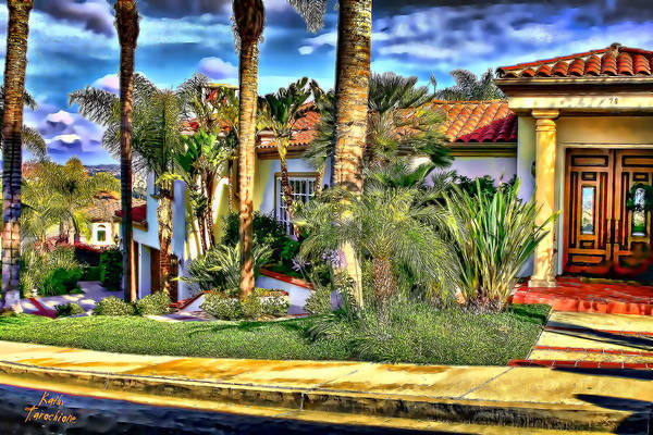 Photograph - San Clemente Estate 3 by Kathy Tarochione