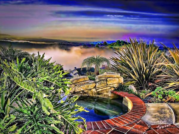 Photograph - San Clemente Estate by Kathy Tarochione