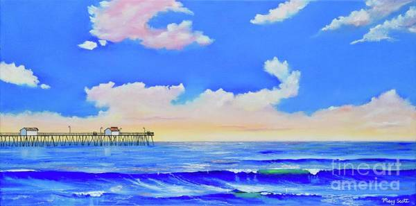 Painting - San Clemente Morning Light by Mary Scott